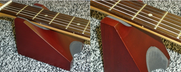 SINGLECOIL Guitar Dual Neck Rest