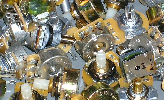 wild bunch of selected and matched potentiometers